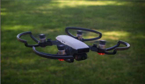 drone con camara de iniciacion