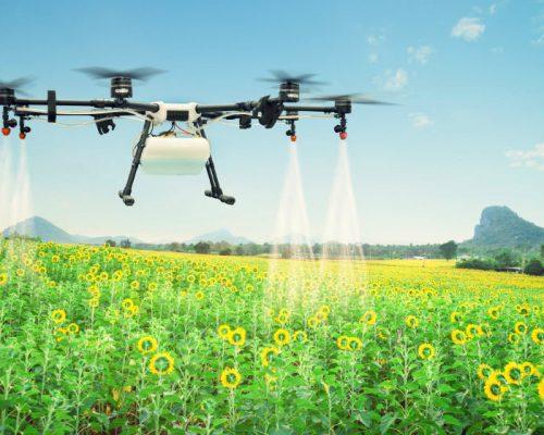 drones para fumigar