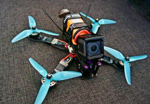 Drones de carreras con cámara