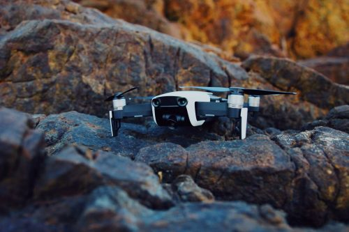 drone con camara 4k