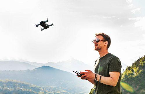 Drones con cámara selfie