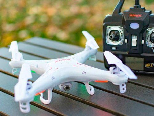 Minidrones con cámara